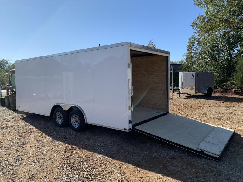 "2021 Spartan 8.5X20+2ft V trailer/6"" extra height"