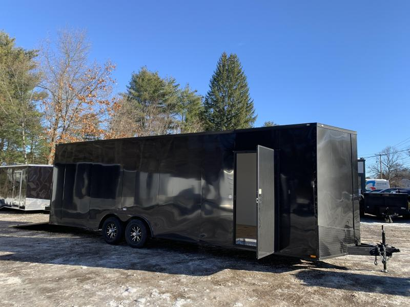 """2021 Spartan 8.5X26+2ft V trailer/18"""" extra height/9990gvwr/undercoated"""