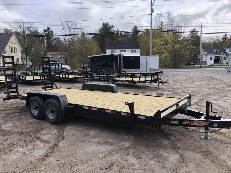 2021 D2E 7x20 equipment trailer 10000GVWR