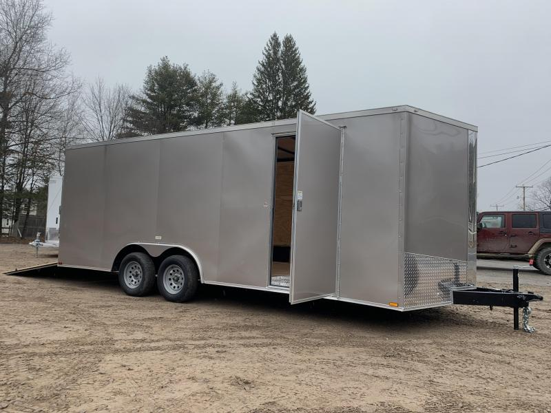 """*SCRATCH SALE*2021 Spartan 8.5X20+2ft V trailer/6"""" extra height/7000gvwr/undercoated/.030"""