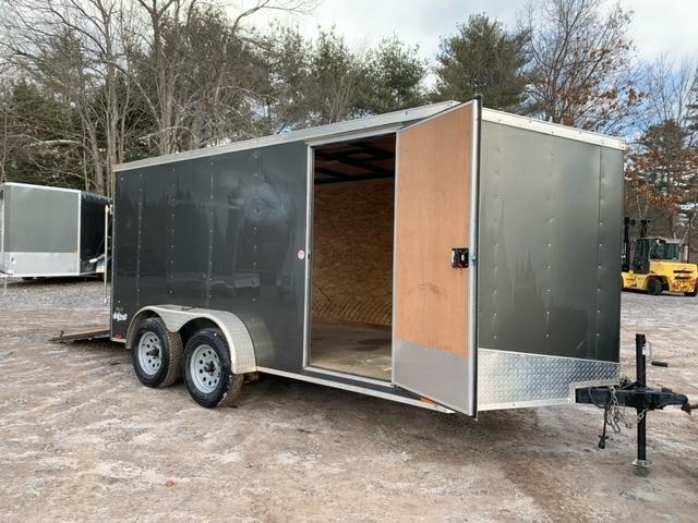 USED* 2018 Pace American 7X14 +2ft v-nose