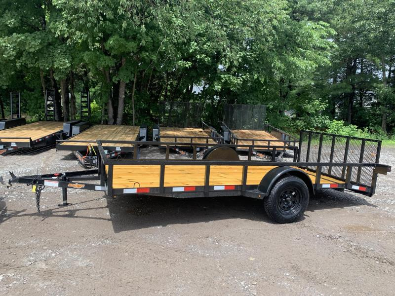 2020 Down 2 Earth 7x14 tube steel Utility Trailer/3500gvwr