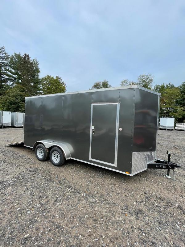 """2022 Spartan 7x16 +2ft V-nose/12"""" extra height/rear ramp"""