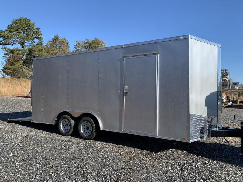 "2021 Spartan 8.5X18+2ft V trailer/12"" extra height"