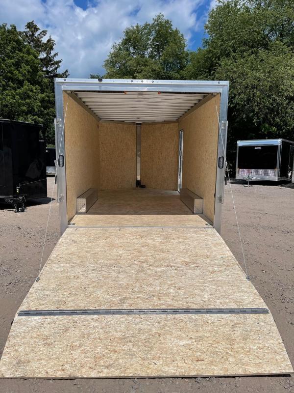 2021 EZ Hauler 8.5x16 +3 ft V-nose/V-nose/Fully Aluminum trailer/7k. gvwr/7' interior