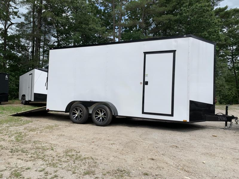 """2021 Spartan 7X16 +2ft V trailer /12"""" extra height/undercoated"""