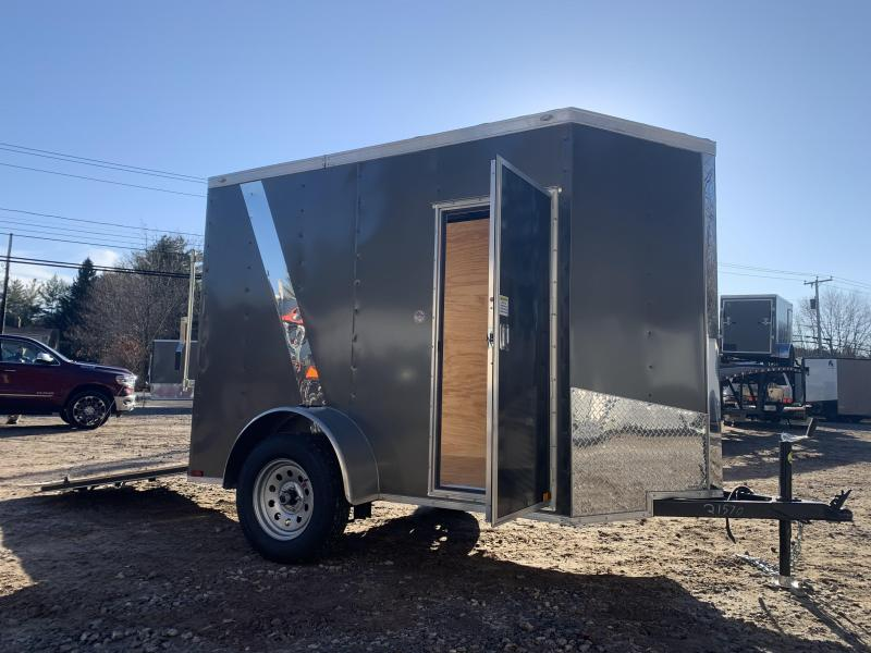 """2021 Spartan 5X8 +2ft V trailer/undercoated/12"""" extra height"""