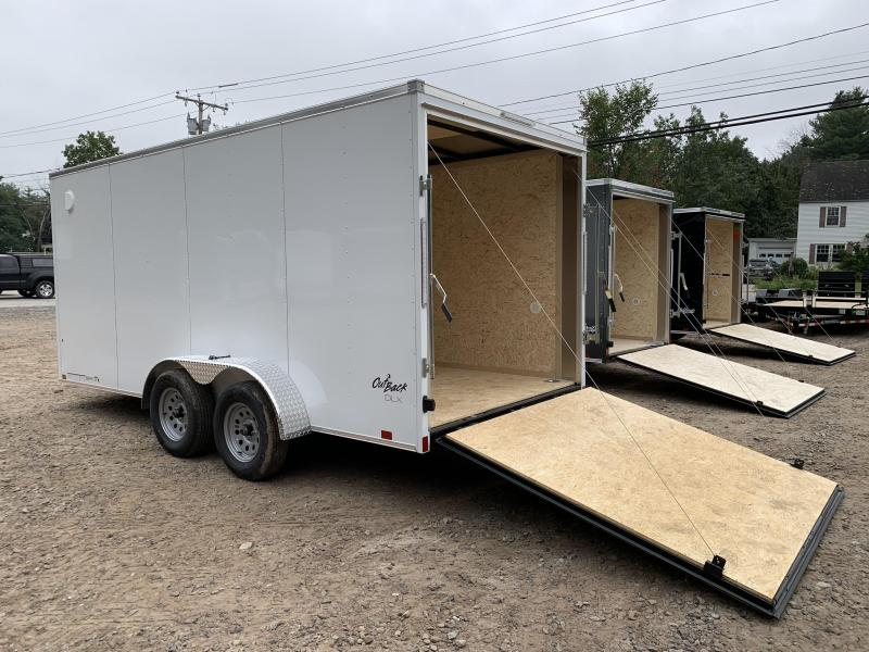 """2021 PACE DLX 7X16 +2ft V-nose 6'6"""" interior height/undercoated"""