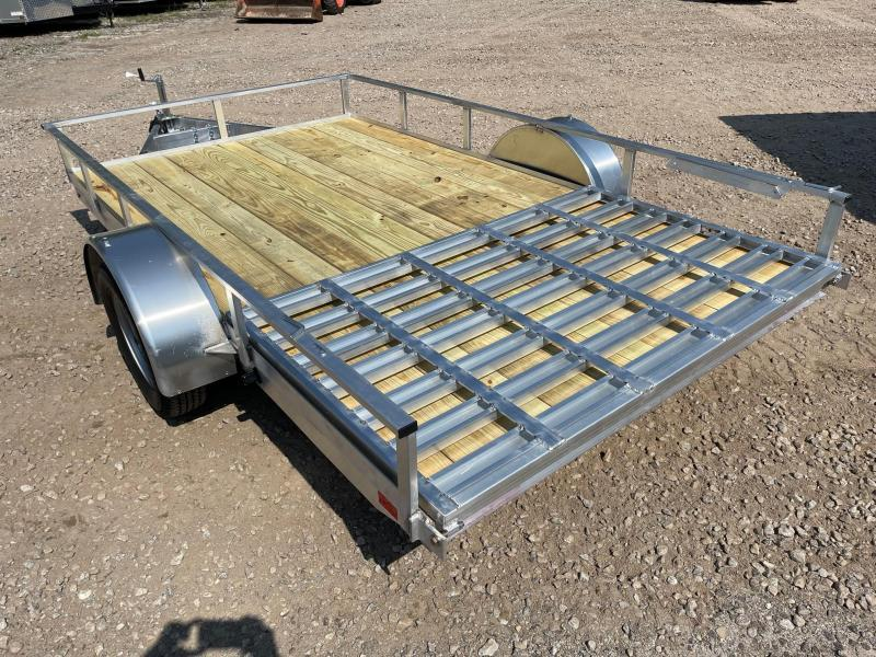 2022 Mission 6.5x12 aluminum utility trailer/2990GVW