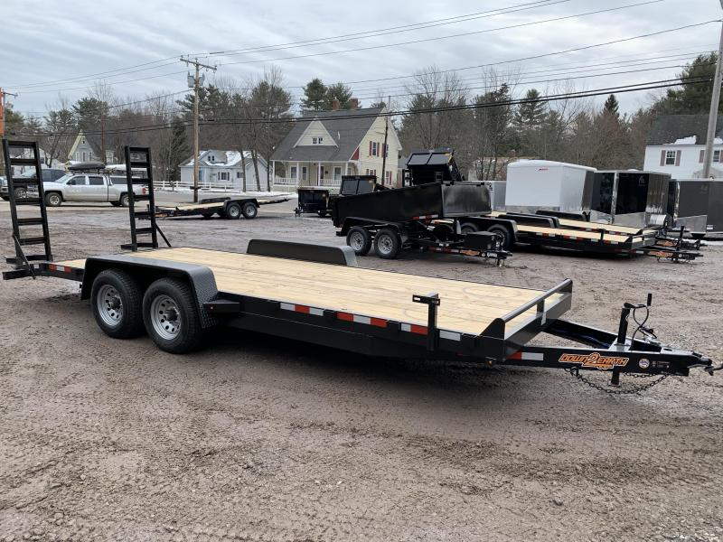 2020 D2E 7x20 equipment trailer 9990 GVWR