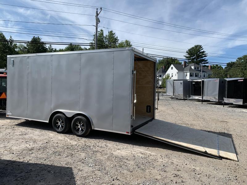 "2021 Spartan 8.5X18+2ft V trailer/18"" extra height/12OC"