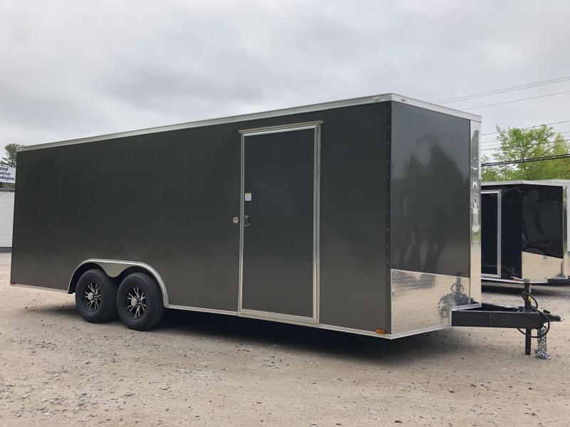 "2020 Spartan 8.5X20 +2ft V trailer/6"" extra height/9990 GVWR"