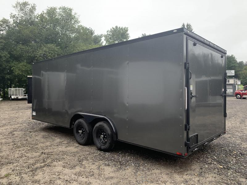"""2021 Spartan 8.5X20+2ft V trailer/6"""" extra height/9990gvwr/Blackout Package"""