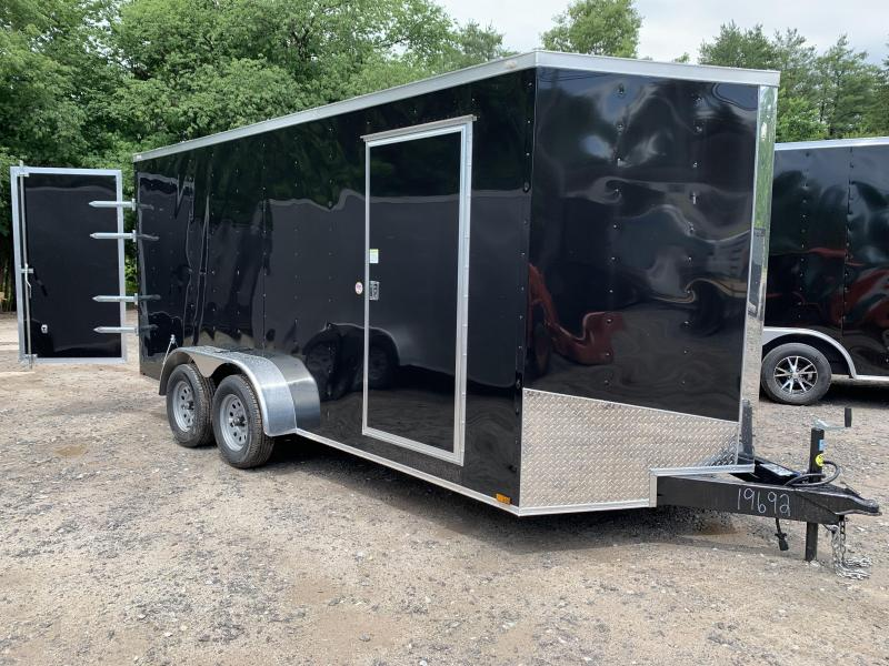 "2020 Spartan 7X16 +2ft V trailer /6"" extra height"