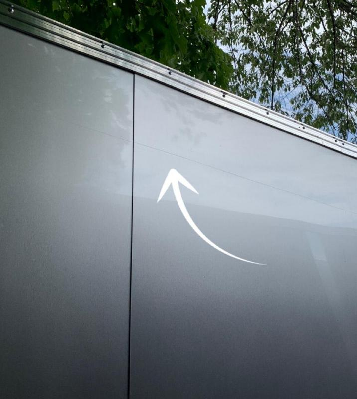 "2021 Scratch Sale* EZ Hauler 8.5x18 +3 ft V-nose/Aluminum Car Hauler/7000gvwr/12"" extra height"