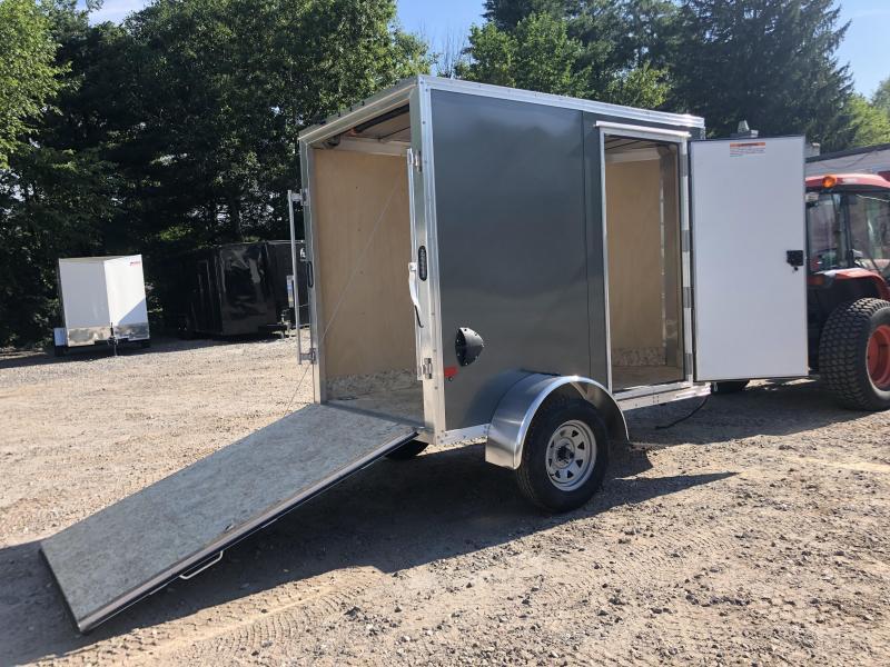 2021 EZ Hauler 5X8 +2 ft V-Nose Aluminum trailer / 6' interior