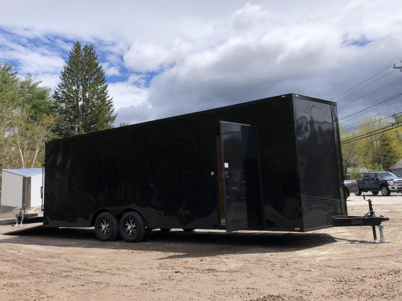 "2021 Spartan 8.5X24+2ft V trailer/blackout/18"" extra height/undercoated/9990gvwr"
