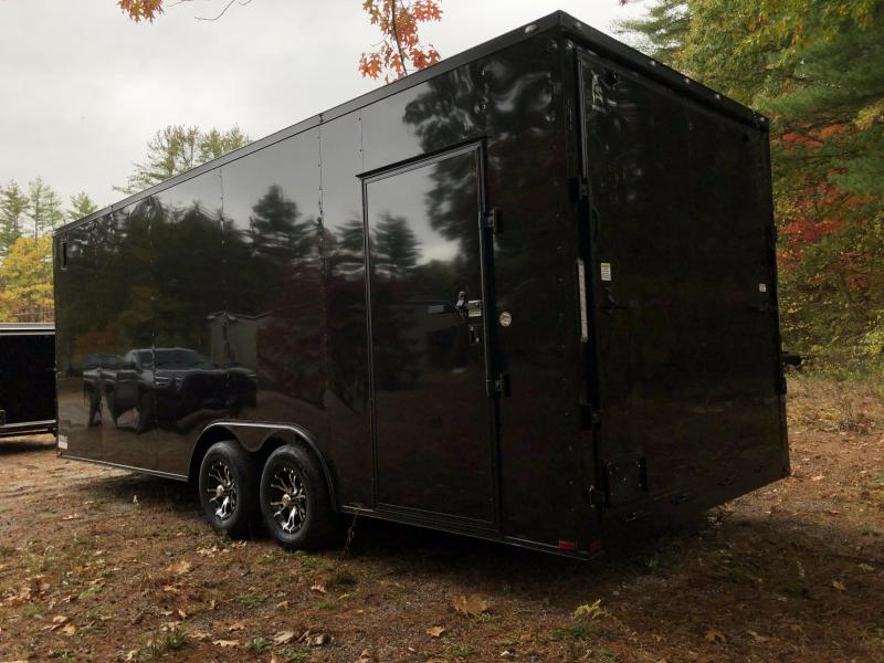 """2021 Spartan 8.5X22+2ft V trailer/12"""" extra height/ Blackout"""