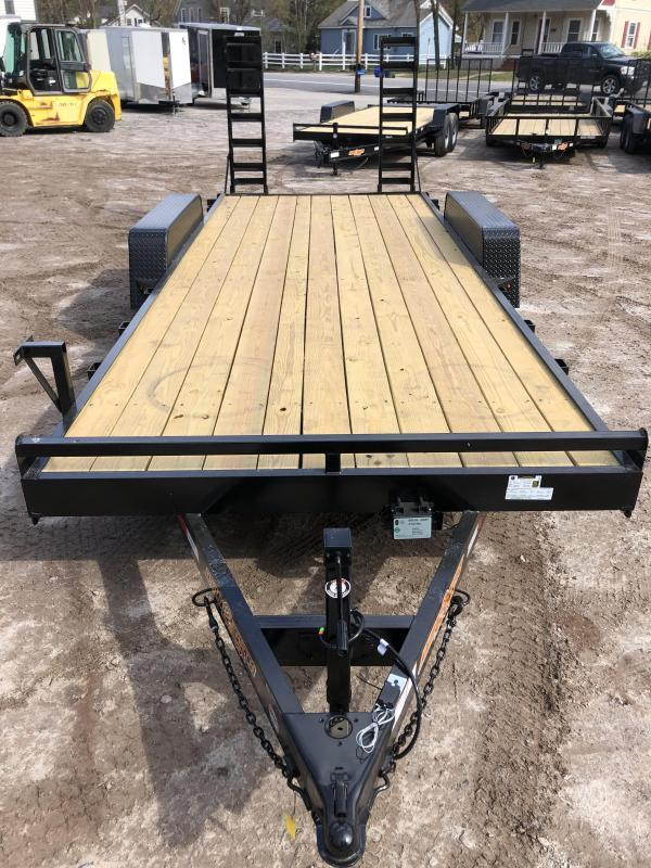 2021 D2E 7x20 equipment trailer/9990GVWR