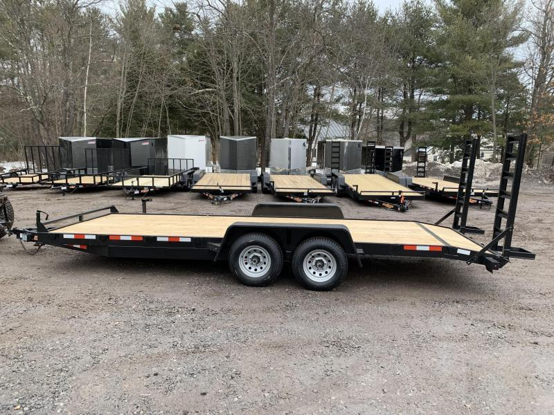 2020 D2E 7x20 equipment trailer 14000GVWR