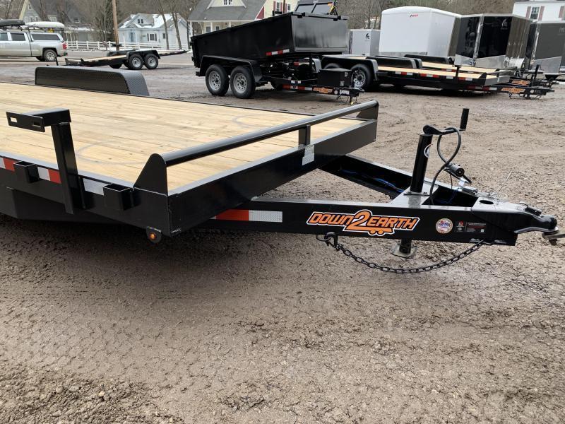 2020 D2E 7x20 equipment trailer 14000GVWR