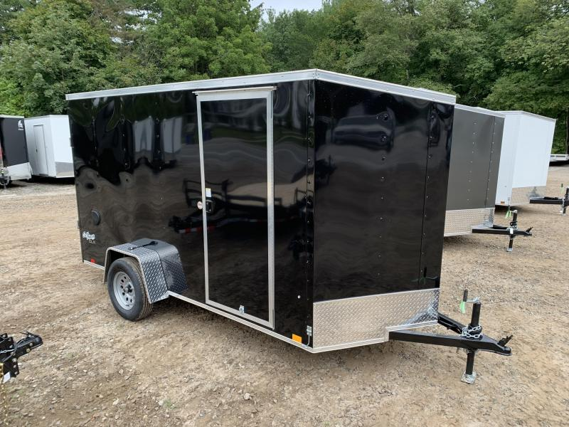 """2022 Pace American 6x12 +2ft v-nose/6"""" extra height/undercoated"""