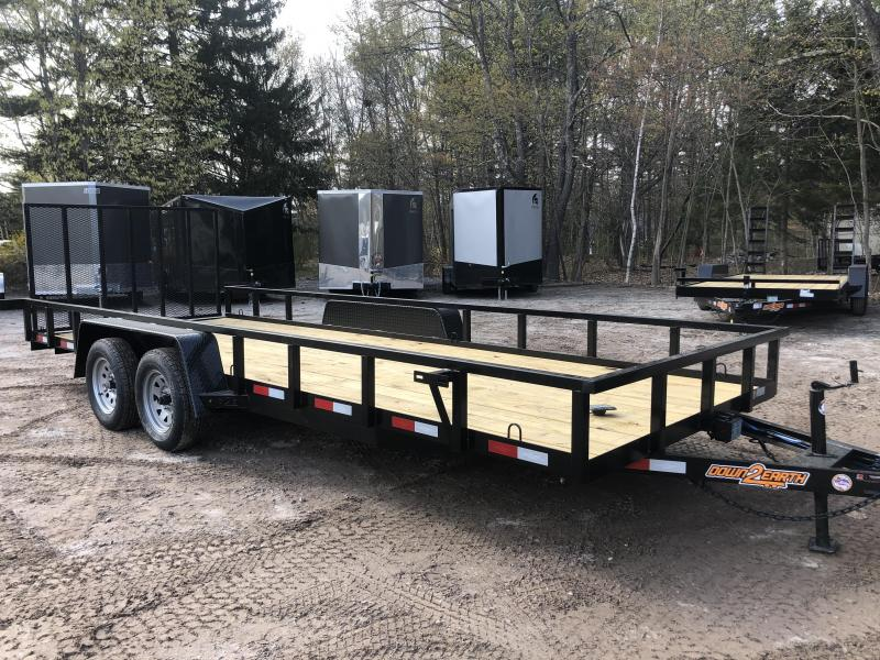2020 D2E 7x20 Utility Trailer/7000 GVWR