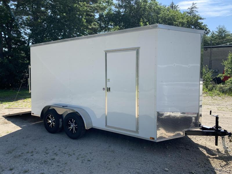 "2021 Spartan 7X14 +2ft V trailer/12"" extra height/undercoated"