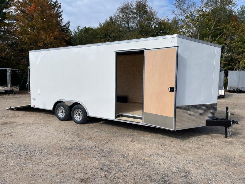 """2022 PACE American 8.5X20+2ft V trailer/12"""" extra height/7000gvwr"""