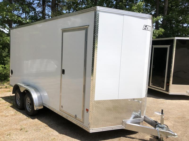 2020 EZ Hauler 7X16 +2ft V-nose/Aluminum V-Nose / Extra height