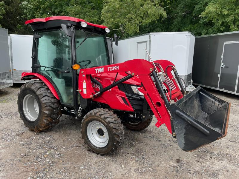 2020 TYM Yanmar 37hp diesel tractor t394 4x4 cab tractor/ 60 hours