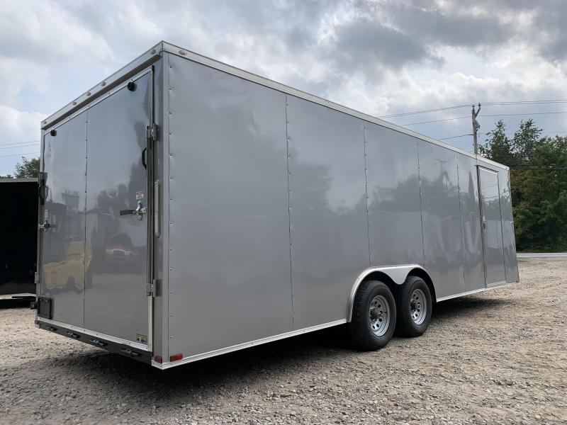 """2022 Spartan 8.5X24+2ft V trailer/6"""" extra height/undercoated/9990gvwr"""
