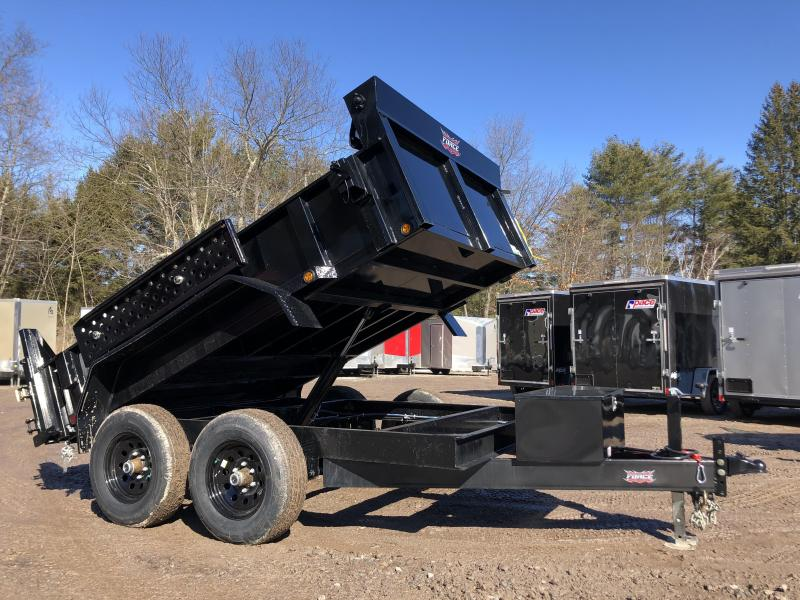2021 FULLY LOADED 6x10 Hydraulic Dump Trailer 9800K gvwr