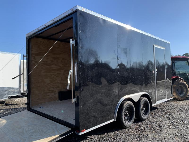 """2021 Spartan 8.5X16 +2ft V trailer/12"""" extra height"""