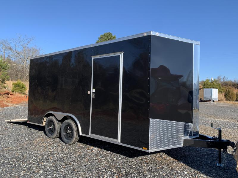 "2021 Spartan 8.5X16 +2ft V trailer/12"" extra height"