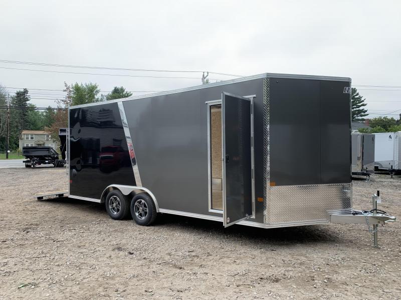 2021 EZ Hauler 8.5x18 +3 ft V-nose/Fully Aluminum trailer/7k. gvwr/7' interior