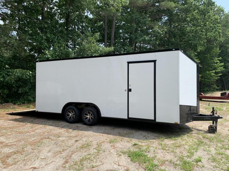 "*DENT SALE* 2021 Spartan 8.5X20 +2ft V trailer/Blackout/12"" extra height/9990gvwr"