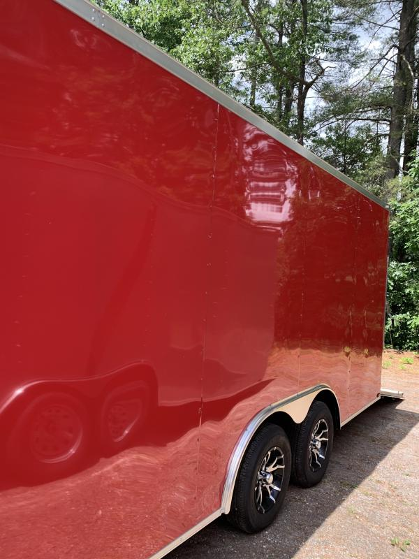 "2020 Spartan 8.5X20 +2ft V trailer/12"" extra height/7k gvwr *scratch sale"