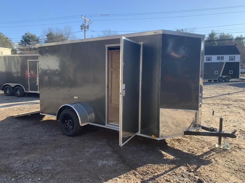 "2020 Spartan 6x12 +2ft V-nose trailer/6"" extra height/undercoated"