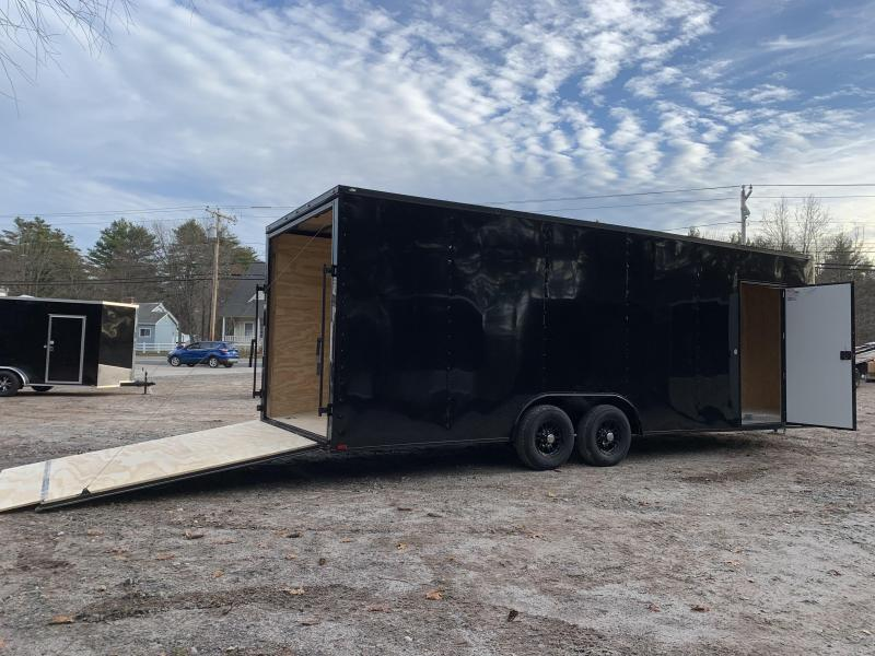 "2021 Spartan 8.5X24+2ft V trailer/18"" extra height/9990gvwr/undercoated"