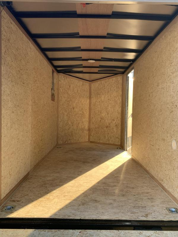 """2021 Pace American 6x12 +2ft v-nose/6"""" extra height/undercoated"""