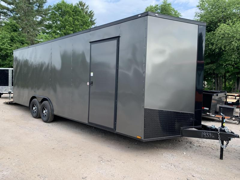 "2020 Spartan 8.5X24 +2ft V trailer/12"" extra height 9990 gvwr"