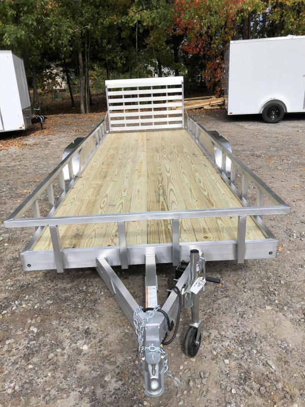 2021 Mission 7X20 Aluminum Utility Trailer/6000gvwr