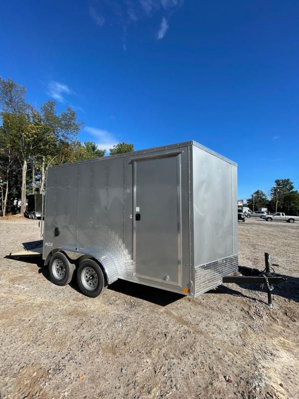 """2022 PACE American 7X12 +2ft Vnose/12"""" extra height/undercoated"""