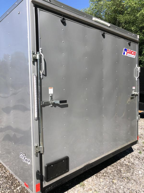 """2021 Pace American 8.5x24 +2' V DLX/12"""" extra height/undercoated"""