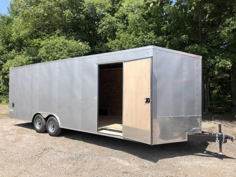 "2021 Pace American 8.5x24 +2' V DLX/12"" extra height/undercoated"