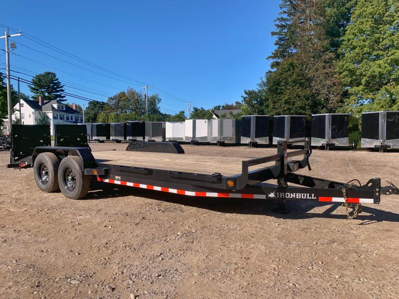 2022 Iron Bull 7x20 Equip. trailer 14k gvwr-Rampage ramps-Commercial grade