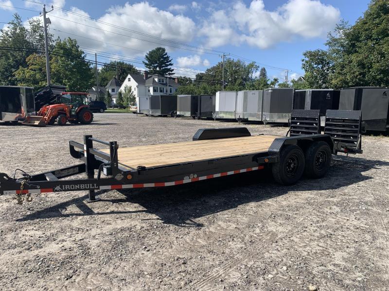 2022 Iron Bull 7x20 Equipment trailer 14,000gvw /Rampage ramps