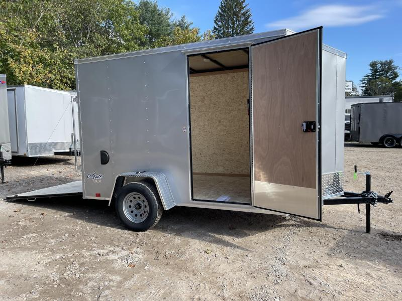 """2022 Pace American 6x10 +2ft v-nose/6"""" extra height/undercoated"""