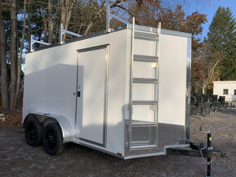 """2021 Spartan 7X12 +2ft V/110V Contractor package/6"""" extra height/undercoated"""
